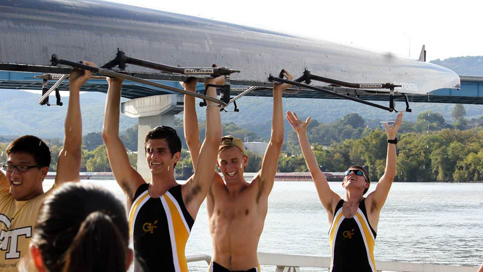 An Award-Winning Program and Chattanooga Head Race Competitors: Georgia Tech Crew