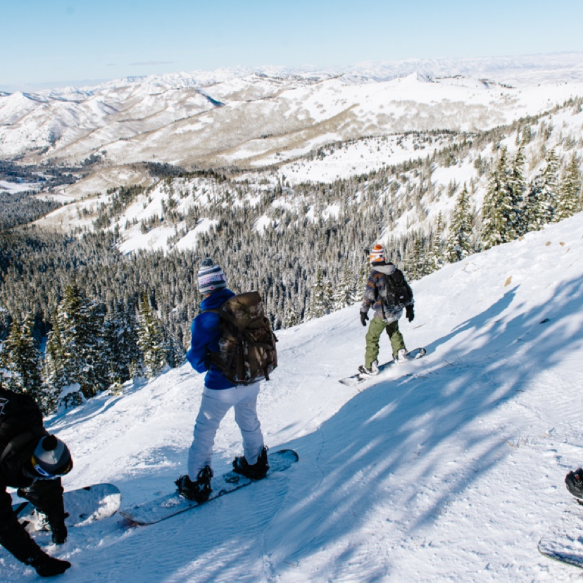 Backcountry Skiing at Brighton