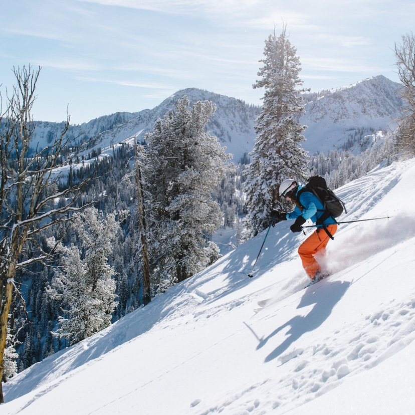 Backcountry Skiing at Solitude