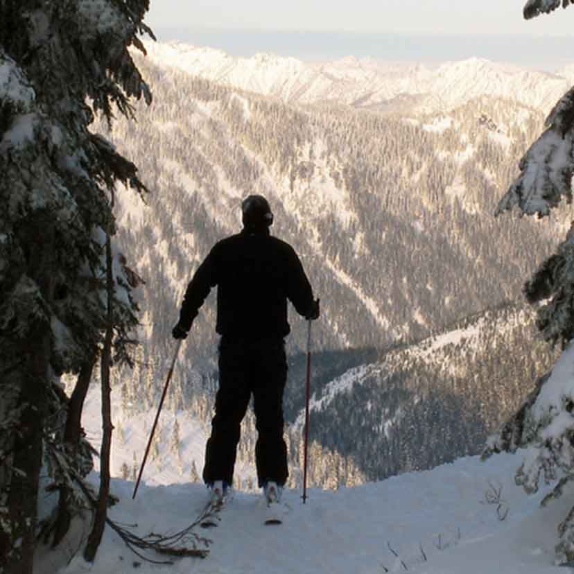 Backcountry Skiing at Stevens Pass